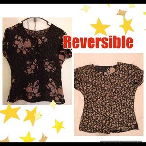 EUC Reversible Ladies Dress Shirt/Blouse